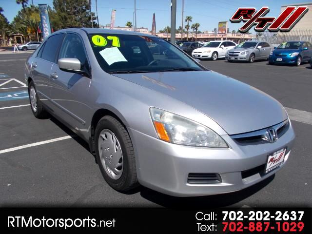 2007 Honda Accord SE V-6 Sedan AT