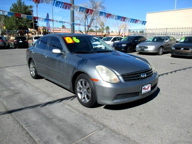 Used Cars in Las Vegas 2006 Infiniti G35