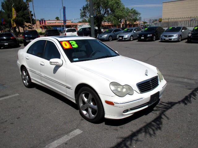 Used Cars in Las Vegas 2003 Mercedes Benz C-Class
