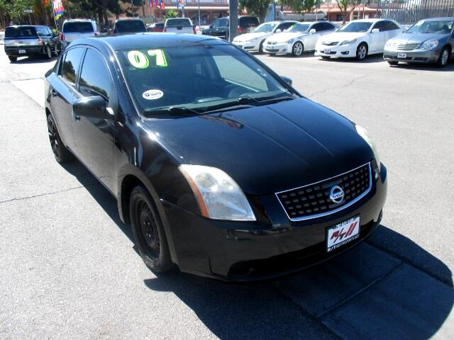 Used Cars in Las Vegas 2007 Nissan Sentra
