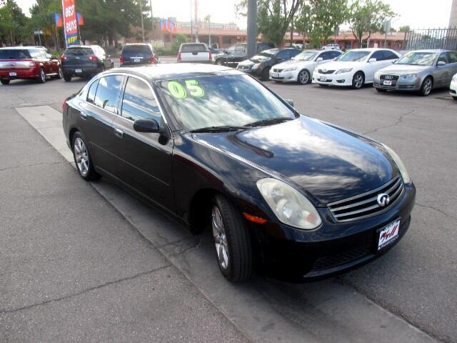 Used Cars in Las Vegas 2005 Infiniti G35
