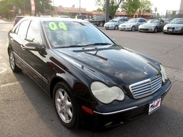 Used Cars in Las Vegas 2004 Mercedes Benz C-Class