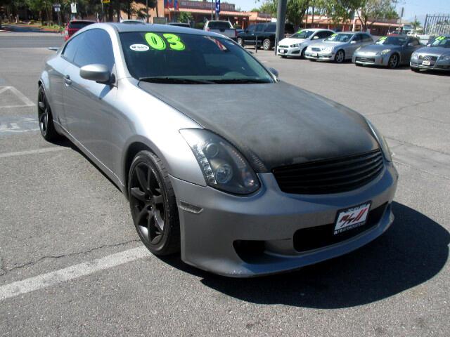 Used Cars in Las Vegas 2003 Infiniti G35