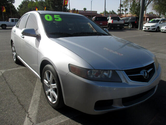 2005 Acura TSX 5-Spd AT with Tech Package