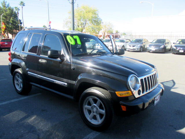 Used Cars in Las Vegas 2007 Jeep Liberty