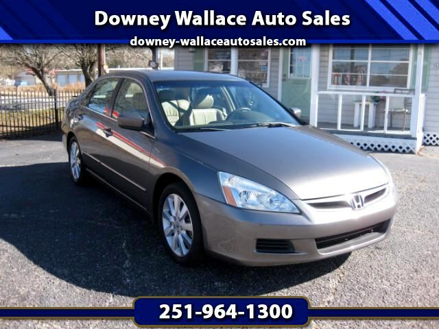 2007 Honda Accord EX V-6 Sedan AT w/ XM Radio
