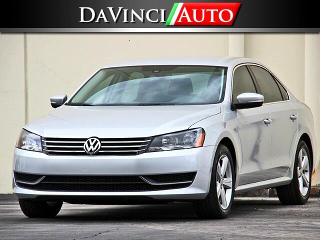 2013 Volkswagen Passat 2.5L SE MT