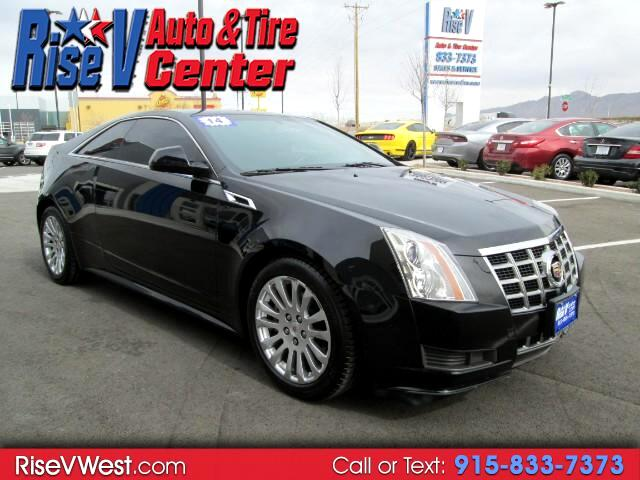 2014 Cadillac CTS Coupe Standard RWD