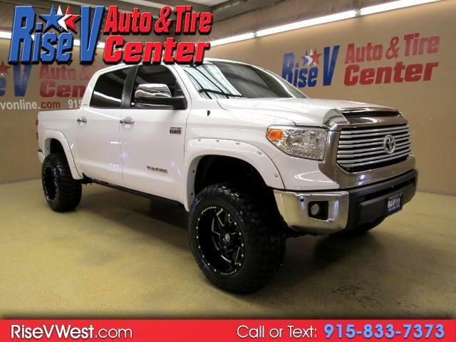 2016 Toyota Tundra Limited 5.7L FFV CrewMax 4WD