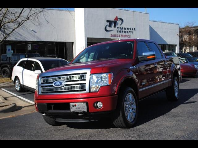 2011 Ford F-150 Platinum 4WD SuperCrew 6.5' Box