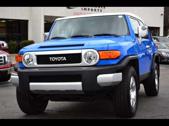 2008 Toyota FJ Cruiser 4WD AT
