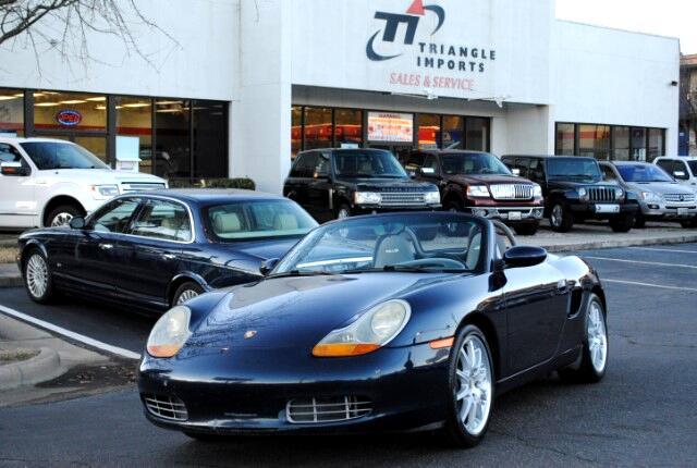 2000 Porsche Boxster 2dr Roadster