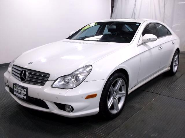 2008 Mercedes-Benz CLS-Class CLS550 4-Door Coupe