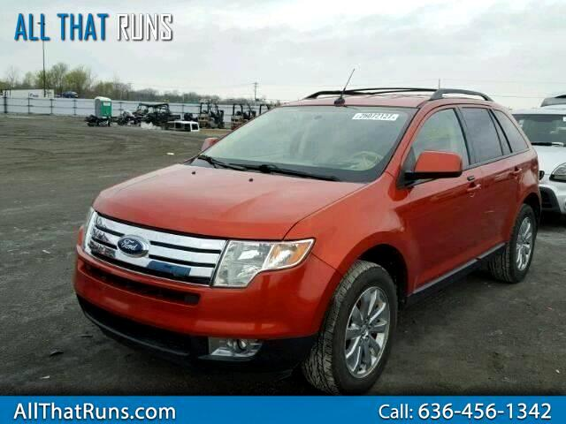 Used 2007 Ford Edge Sel Plus Fwd For Sale In Warrenton Mo