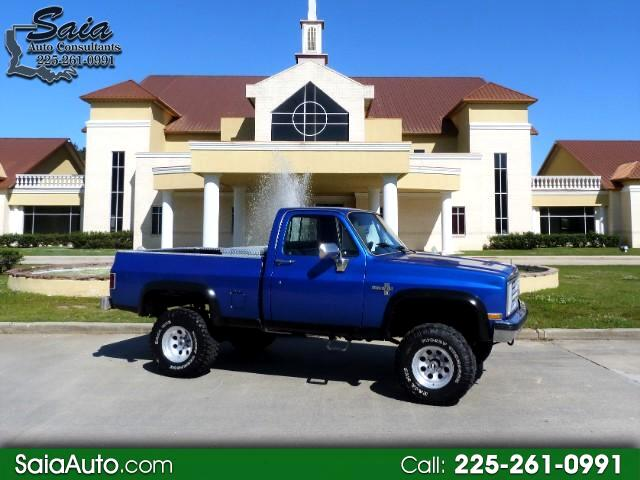 1985 Chevrolet C/K 10 Regular Cab 4WD