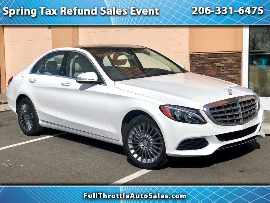 2015 Mercedes-Benz C-Class 4dr Sdn C300 Luxury 4MATIC