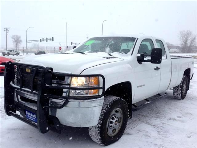 2011 Chevrolet Silverado 2500 Work Truck Ext. Cab 4WD