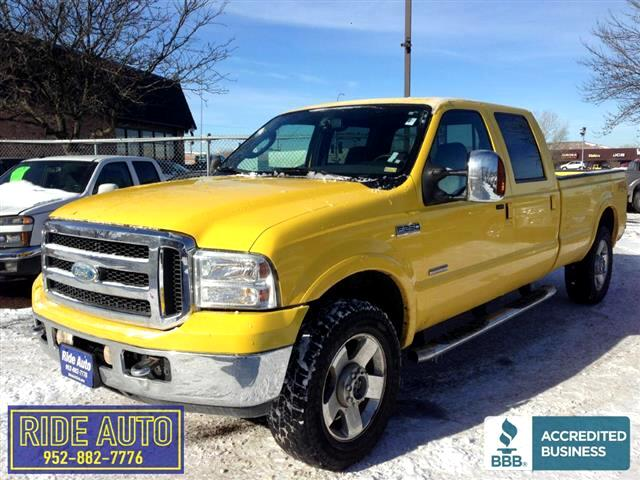 2006 Ford F250 Amarillo Package Crew cab 4dr 4WD