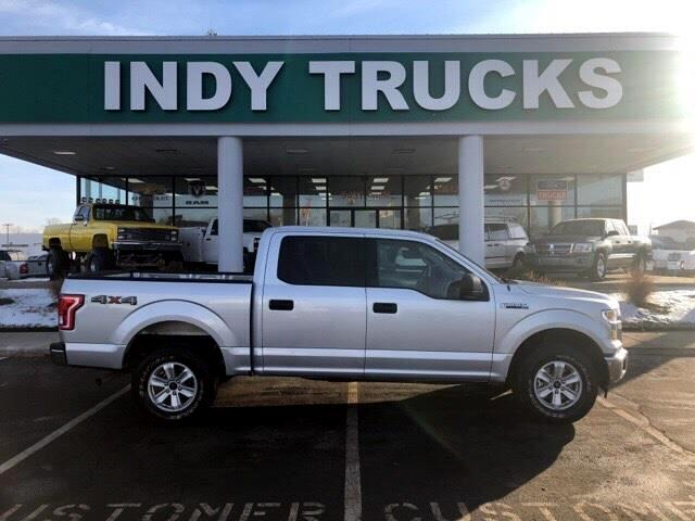 2017 Ford F-150 4WD SuperCab 133
