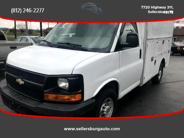 2008 Chevrolet Express Cab-Chassis Van 2D