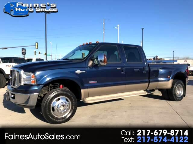 2006 Ford F-350 SD King Ranch Crew Cab Long Bed 4WD