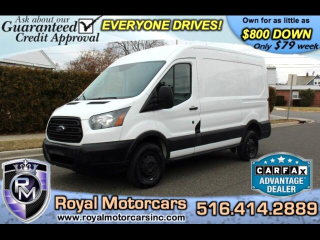 2015 Ford Transit 250 Van Med. Roof w/Sliding Pass. 130-in. WB