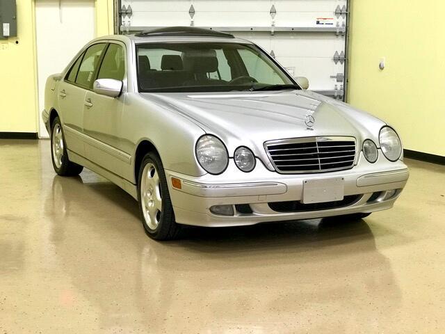 2002 Mercedes-Benz E-Class 4dr Sdn E 400 4MATIC