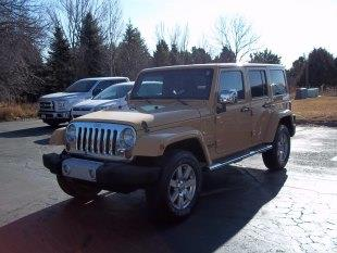 2013 Jeep Wrangler Unlimited Unlimited Sahara 4WD