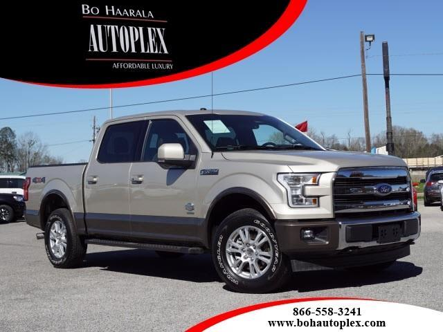 2017 Ford F-150 KING RANCH, 4WD SUPERCREW