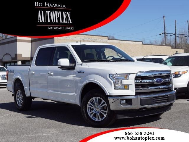 2017 Ford F-150 4wd lariat supercrew