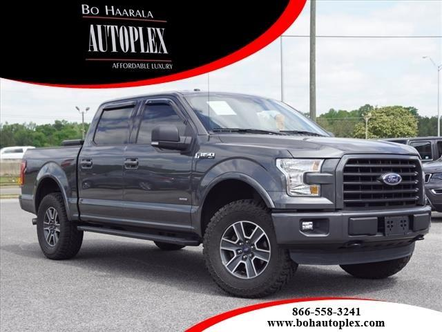 2015 Ford F-150 XLT SPORT 4WD SUPERCREW