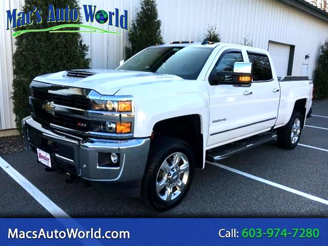 2017 Chevrolet Silverado 2500HD LTZ Crew Cab Long Box 4WD