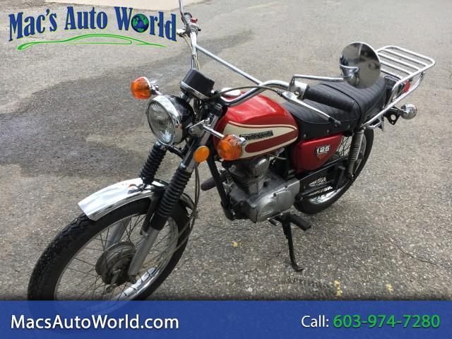 1974 Honda CR125R motorcycle