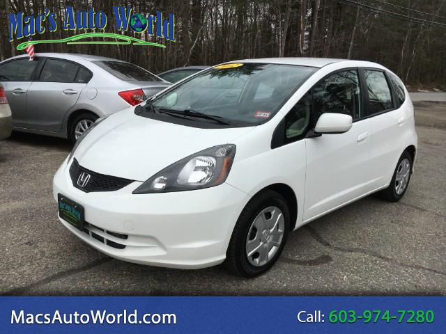 2012 Honda Fit 5-Speed MT