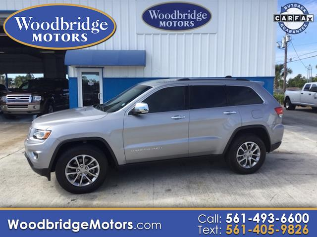 2016 Jeep Grand Cherokee Limited 2WD