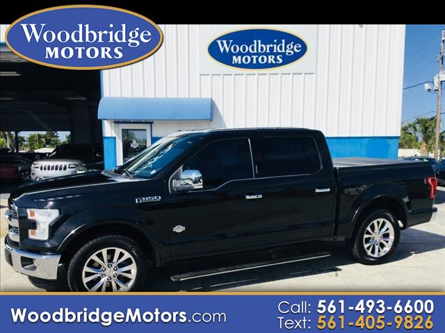 2015 Ford F-150 King Ranch SuperCrew 6.5-ft. Bed 2WD