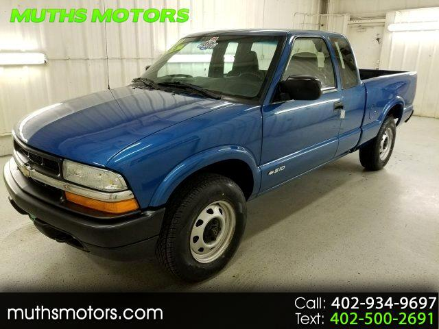 2001 Chevrolet S10 Pickup Ext. Cab 4wd ***LOW MILES!!***