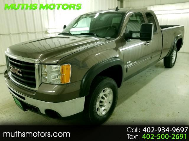 2008 GMC Sierra 2500HD SLT Ext Cab Long Box ***DURAMAX-ONE OWNER***