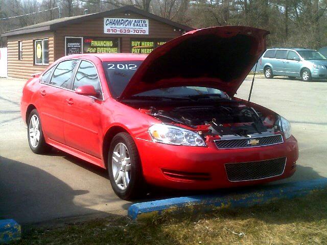 2012 Chevrolet Impala 4dr Sdn LT