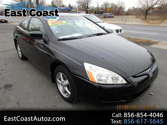 2005 Honda Accord EX Coupe AT with Leather and XM Radio