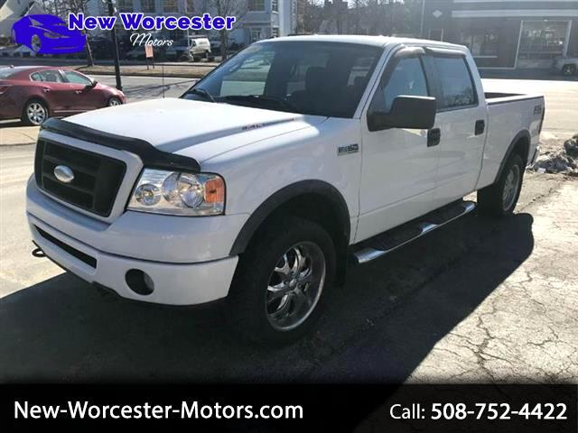 "2008 Ford F-150 4WD SuperCrew 150"" FX4"