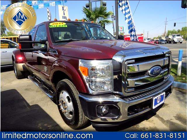 2011 Ford F-350 SD Lariat Crew Cab Long Bed DRW 2WD