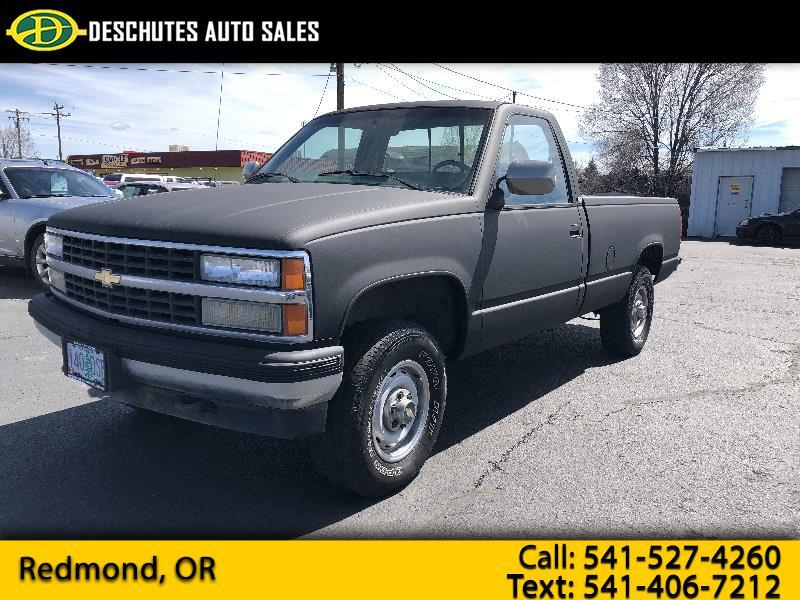1997 chevy 2500 4x4 gas mileage
