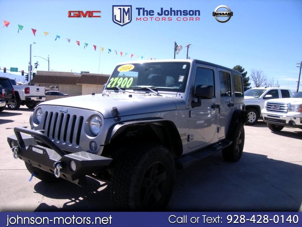 2014 Jeep Wrangler Unlimited Sport S 4x4