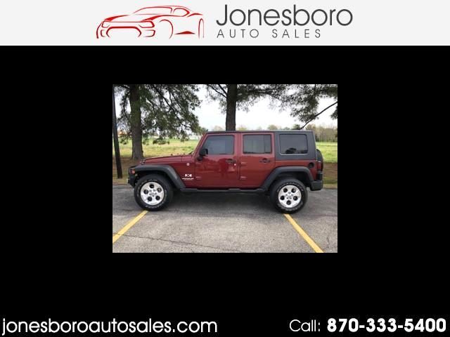 2008 Jeep Wrangler Unlimited Unlimited X 4WD