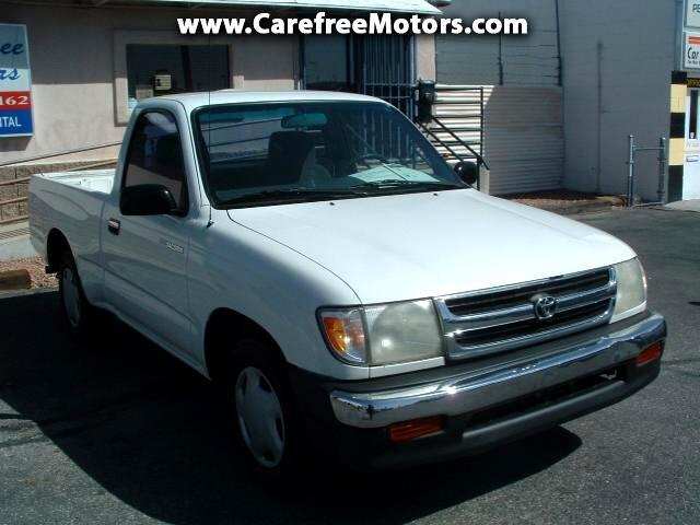 1999 Toyota Tacoma 2wd 1999 Toyota Tacoma Regular Cab