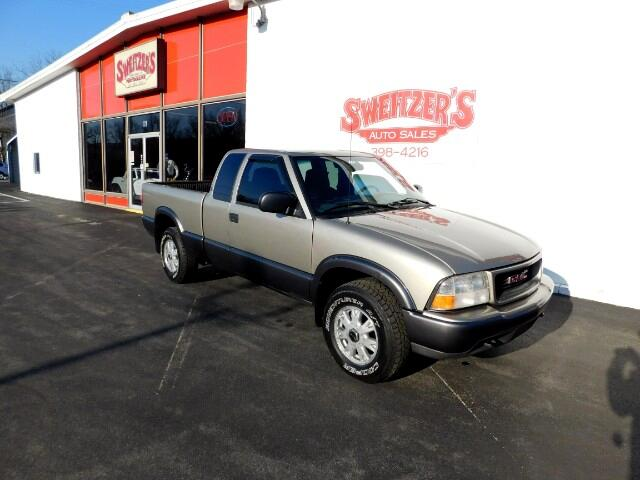 2000 GMC Sonoma SL Ext. Cab Short Bed 4WD