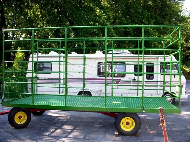 2016 Assembled 2 Axels Hay Wagon