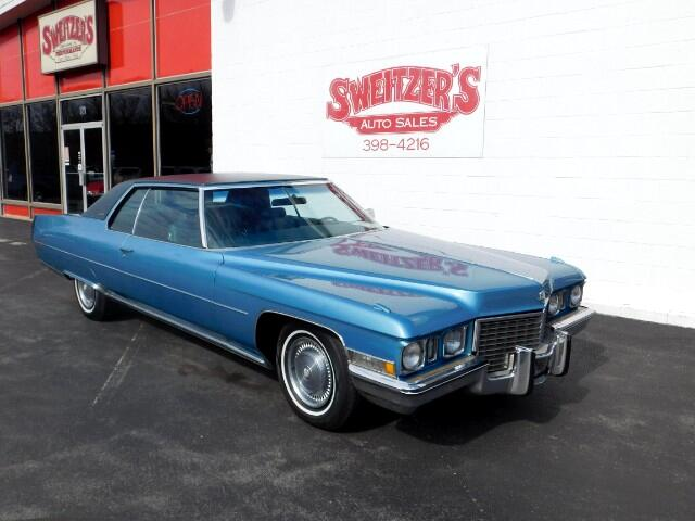 1972 Cadillac DeVille Fleetwood Edition Coupe