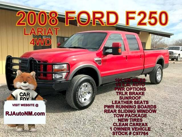 2008 Ford F-250 SD FX4 Crew Cab Long Bed